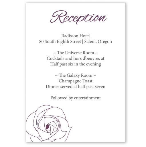 rosereception