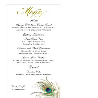 peacock-menu